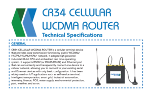 CR34 WCDMA Router